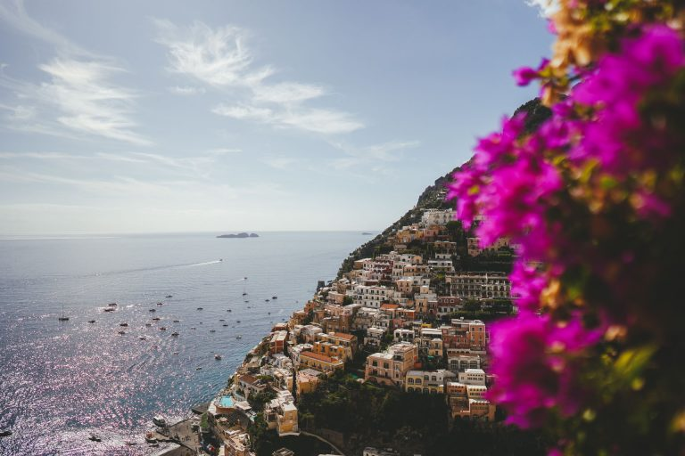 Nick and Nicole's Wedding Photos at Villa Elide in Positano
